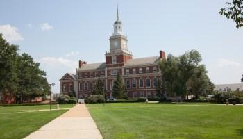 The grounds of Howard University, Washington, D.C.