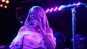 Lalah Hathaway Performs At The Troubadour