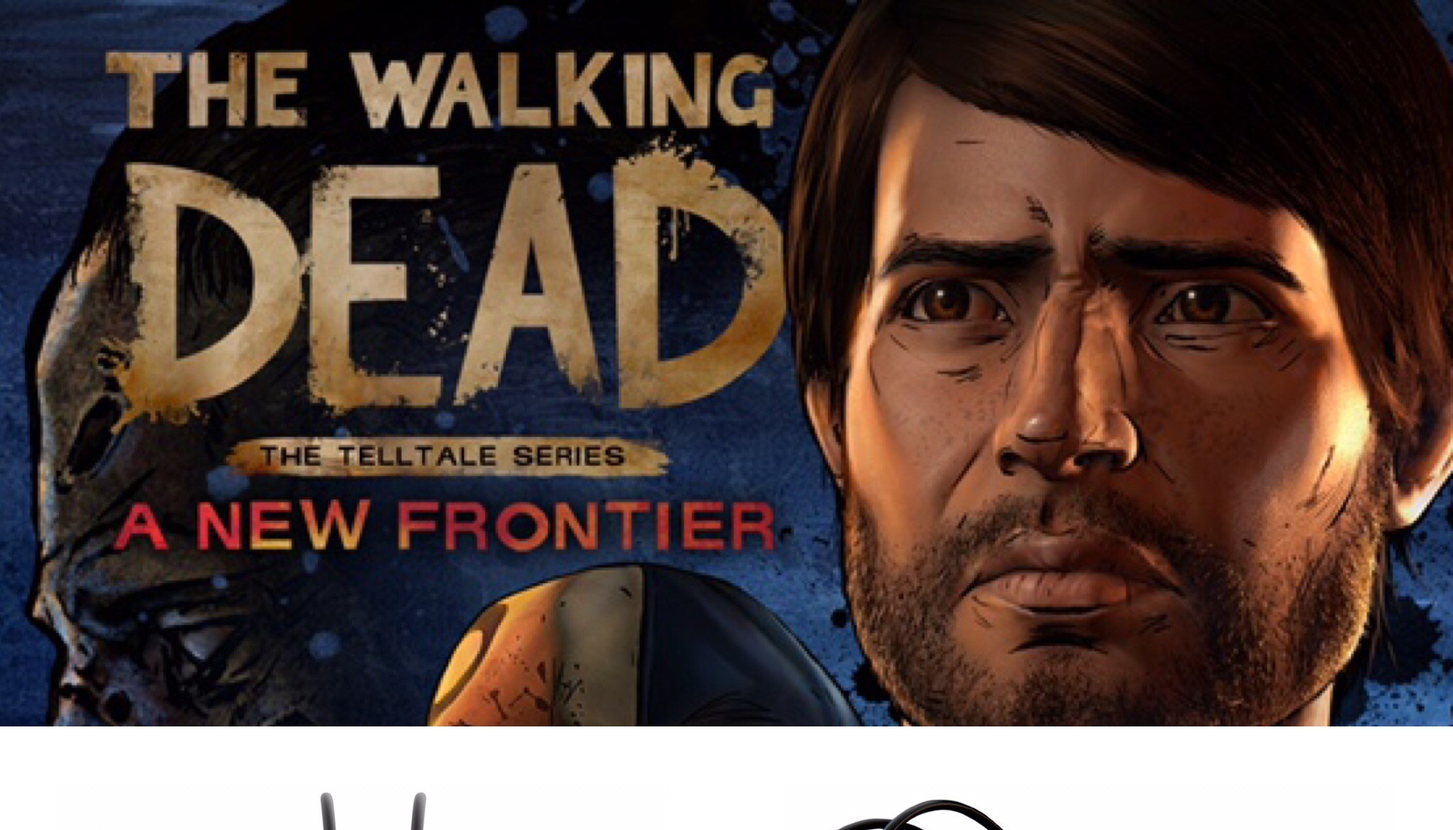 The Walking Dead/Headphone Giveaway Graphic