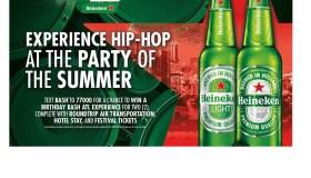 Heineken Birthday Bash