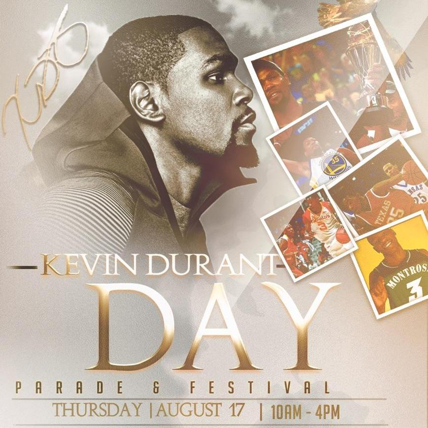 Kevin Durant Day Parade & Festival