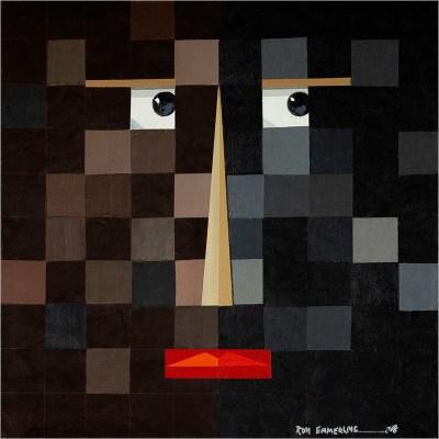 Grid Face - Ron Emmerling