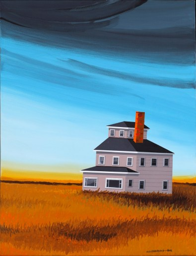 "<span>Plum Island Pink House<br/>No. 1  </span> <span class=""reddot"">     </span>"