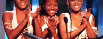 Tionne 'T-Boz' Watkins (L), Rozonda 'Chilli' Thoma