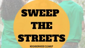 'Sweep The Streets' Neighborhood Cleanup