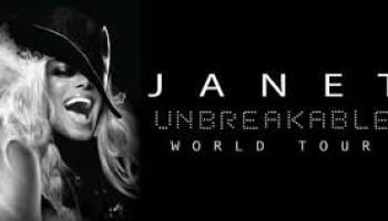 janet jackson tour flyer