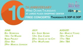 Wind Down Thursday Artist Line Up