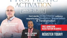 Prophetic Activation With Tabernacle of Praise - Client Provided Tabernacle Of Praise