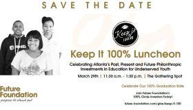 Keep It 100% Luncheon