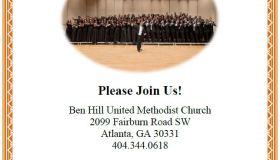 Morgan State University Spring Concert Choir Tour