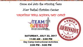 Team Jesus Vacation Bible School Day Camp