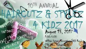 Haircutz & Stylez 4 Kidz 2017