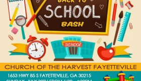 Church of the Harvest Fayetteville Back to School Bash