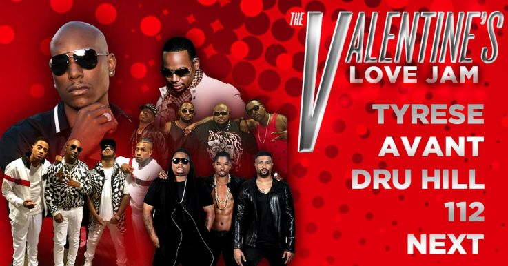 Win Front Row Tickets to The Valentines Day Love Jam | 100.3
