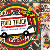 First Friday Food Truck Fest Flyer