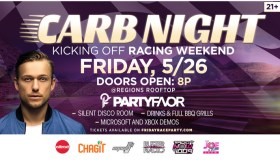 2017 Carb Night Flyer - Radio Now 100.9