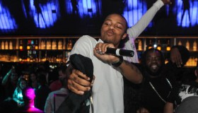 Shad 'Bow Wow' Moss Birthday Celebration At Foxtail Nightclub