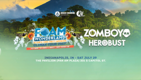 Foam Wonderland with Zomboy & Herobust Flyer