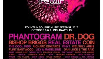 Fountain Square Music Festival Flyer