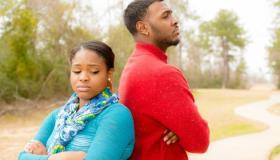 Black Couple Fighting