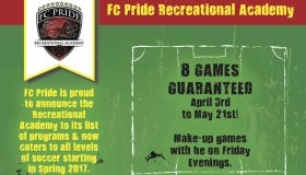 FC Pride Recreational Academy