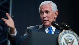 U.S. Vice President Mike Pence Introduces 2017 Astronaut Class