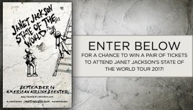 Janet Jackson State of the World Tour Ticket Giveaway