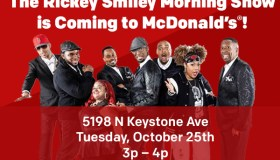 Rickey Smiley to Indy
