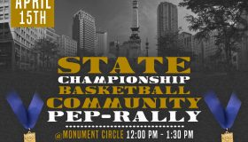 State Championship Community Pep-Rally Flyer