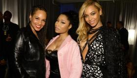 Alicia Keys, Nicki Minaj & Beyonce