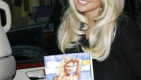 SI Swimsuit 2012 Cover Model Kate Upton Outside Of NBC's Today Show