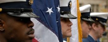 Veteran's Day parade in New York City