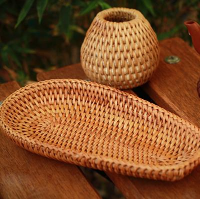 Trưng trà mây tre đan TRM-01