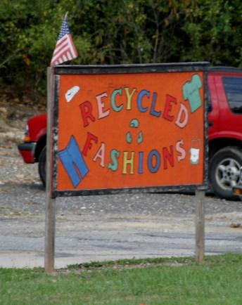 Recycled FashionsTuckasegee, NC