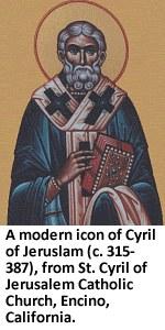 Cyril of Jerusalem icon