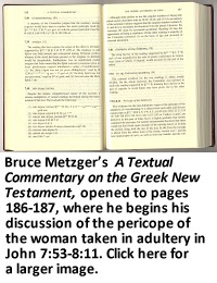 A Textual Commentary on the Greek New Testament, pages 186-187
