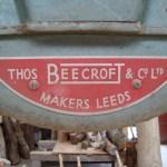Label on bandsaw
