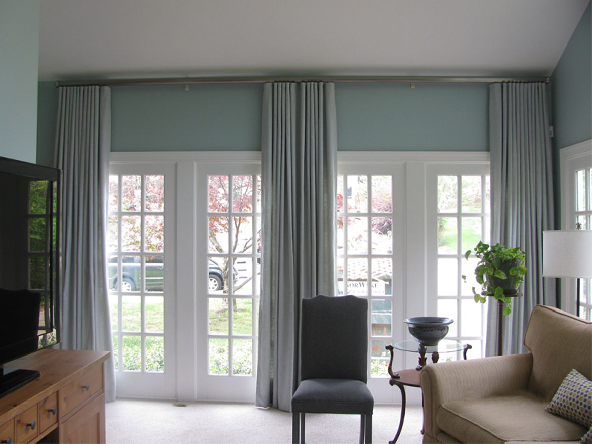 Blue Panel Drapes Ronica S Custom Creations