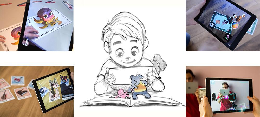 El libro de colorear en 3D de Disney