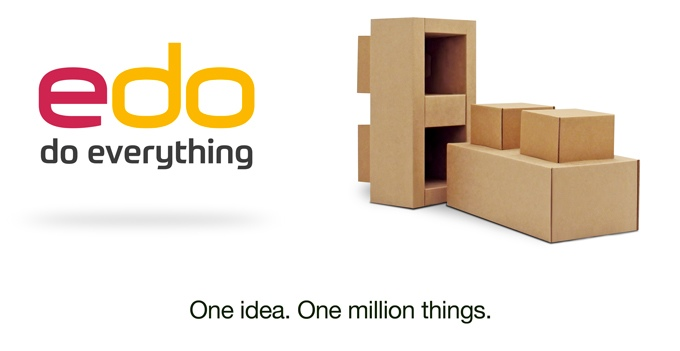 EDO, los bloques gigantes de cartón para niños