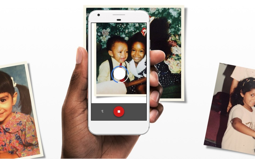 El escáner de Google que recupera tus viejas fotos de papel