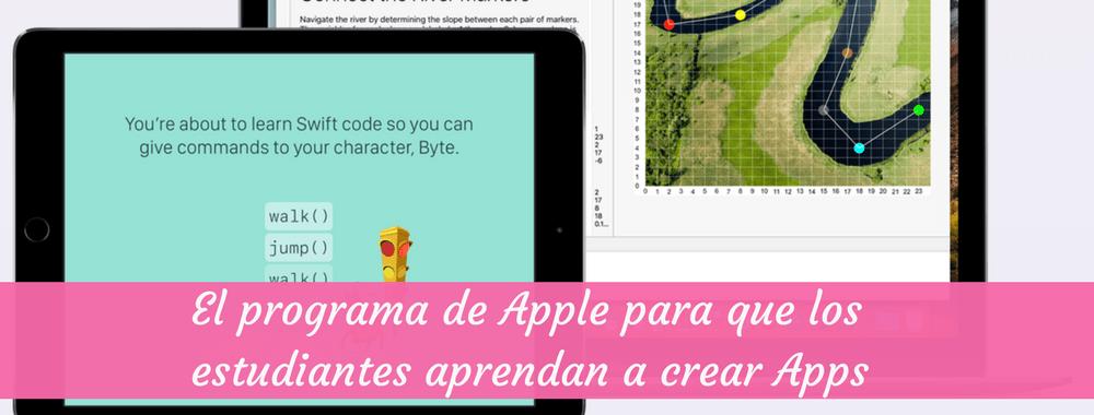 El programa de Apple para que los estudiantes aprendan a crear Apps