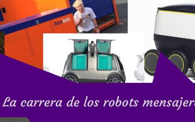 La carrera de los robots mensajeros