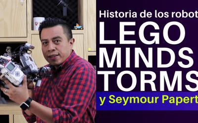 Historia de los robots LEGO Mindstorms y Seymour Papert