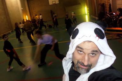 Halloween Training und Party mit Charles Goossens und Andy Guettner am 31.10.2015 in Deurne/Antwerpen in Belgien