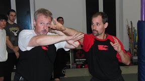 Punong Guro Jeff Espinous am 12. Oktober 2010 zu Besuch bei Kali Sikaran Weingarten/Ravensburg