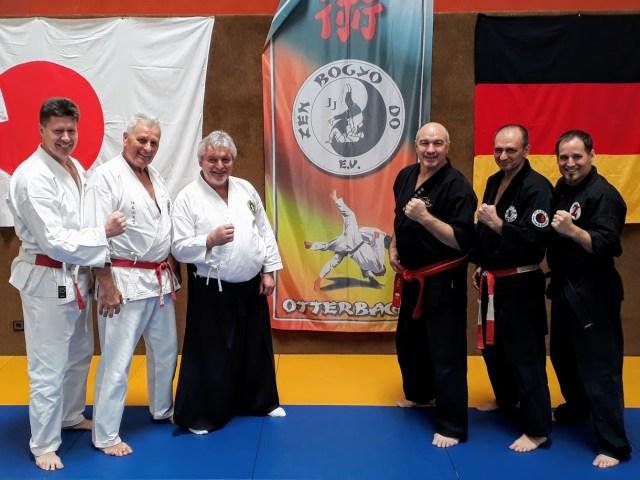 27. Int. Jiu-Jitsu Lehrgang 11.-12.März 2017 in Otterbach