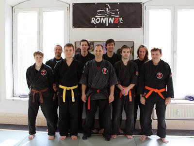 Ju-Jutsu-Do Workshop Pruefungsvorbereitung 12. April 2014 in RoninZ Kampfkunstschule