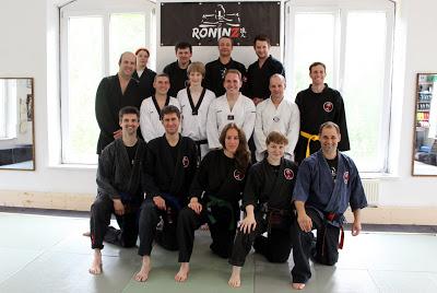 Ju-Jutsu-Do Lehrgang mit Andy Guettner 10.-11. Mai 2014 in RoninZ Kampfkunstschule