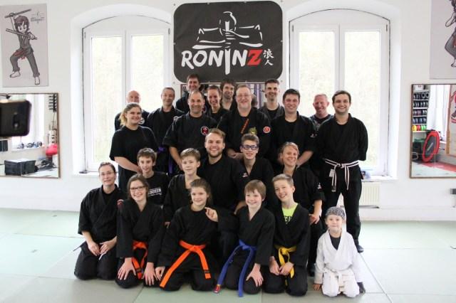 Ju-Jutsu-Do mit Hans-Juergen Eul am 7.-8.10.2017 in RoninZ Kampfkunstschule